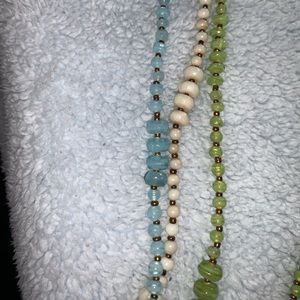 Avenue Jewelry - 2/$15 3 single strand beaded necklaces